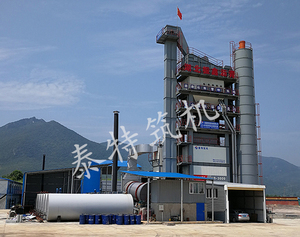 LB-3000 asphalt mixing plant constructed in Hubei
