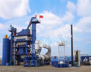 3000 type asphalt mixing plant constructed in Xinjiang